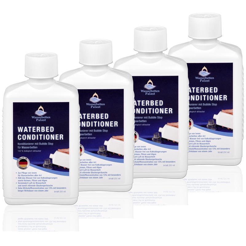 Wasserbetten-Palast Wasserbett Konditionierer 4x 250 ml