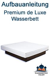 Aufbauanleitung Premium deLuxe Wasserbett